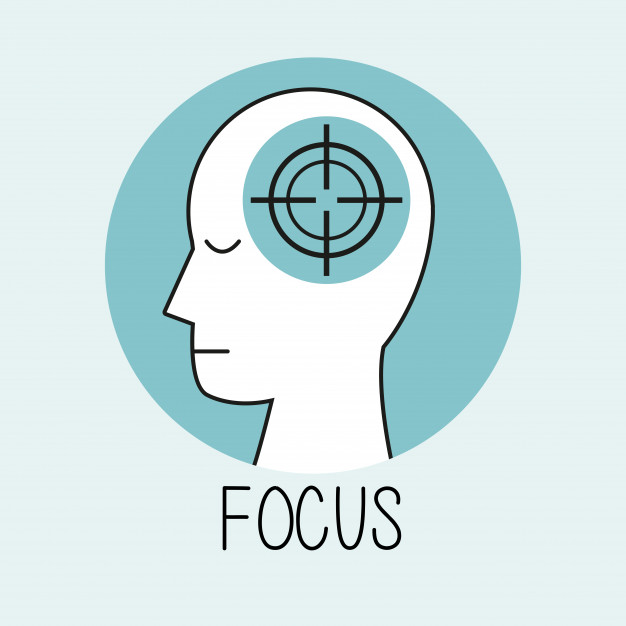 626x626 Profile Human Head Focus Vector Premium Download
