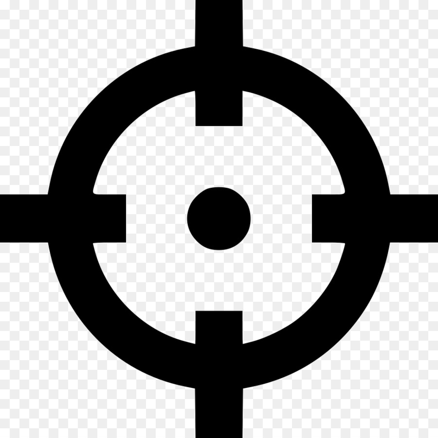 900x900 Computer Icons Telescopic Sight Shooting Target Icon Design