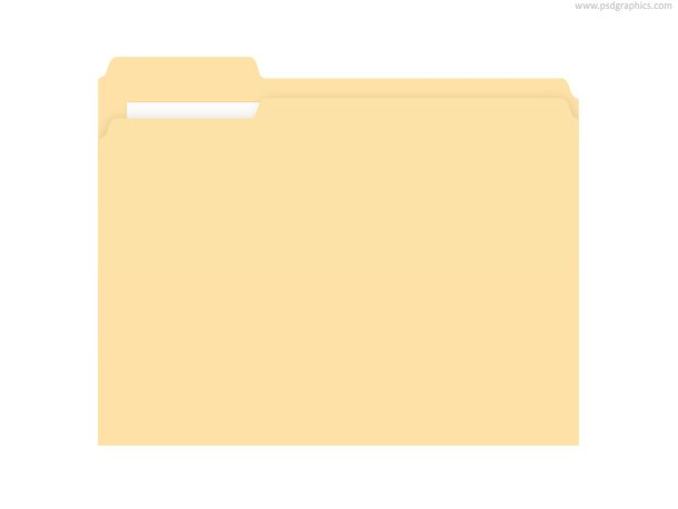 610x458 Free Manila Folder (Psd) Psd Files, Vectors Amp Graphics