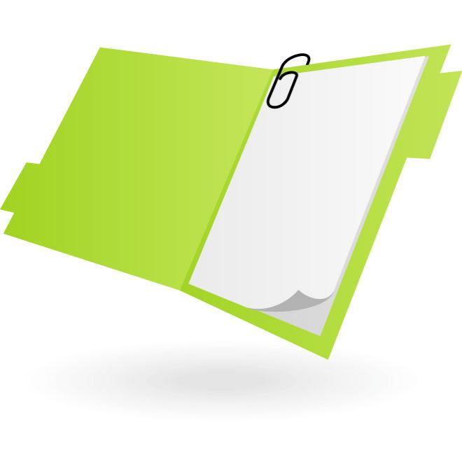 660x660 Office Folder Vector Clip Art