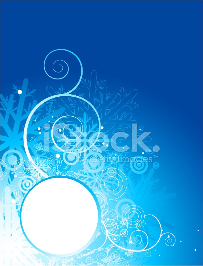 782x1024 Fondo Vertical De Navidad Azul Stock Vector