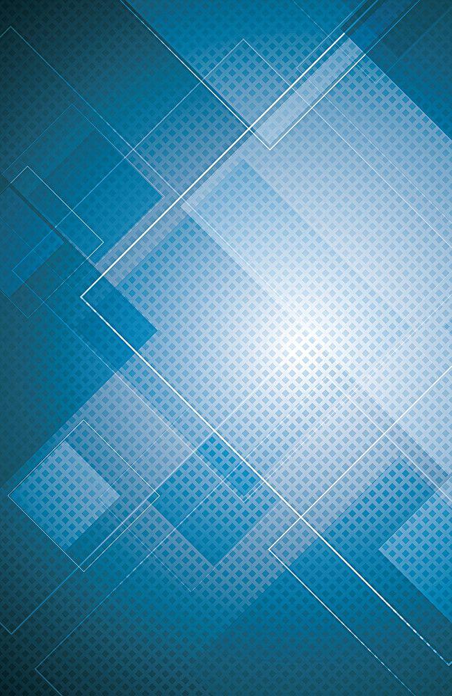 650x1000 La De Vectores De Fondo Azul, Vector, Azul, La Ciencia