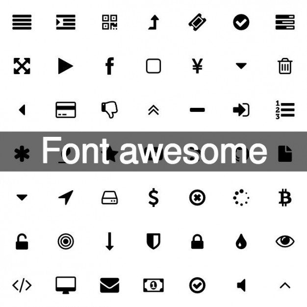 626x626 369 Awesome Font Icons Vector Free Download