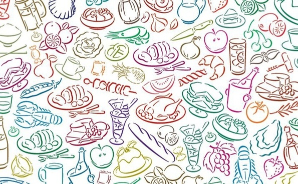 595x368 Food Free Vector Download (5,579 Free Vector) For Commercial Use