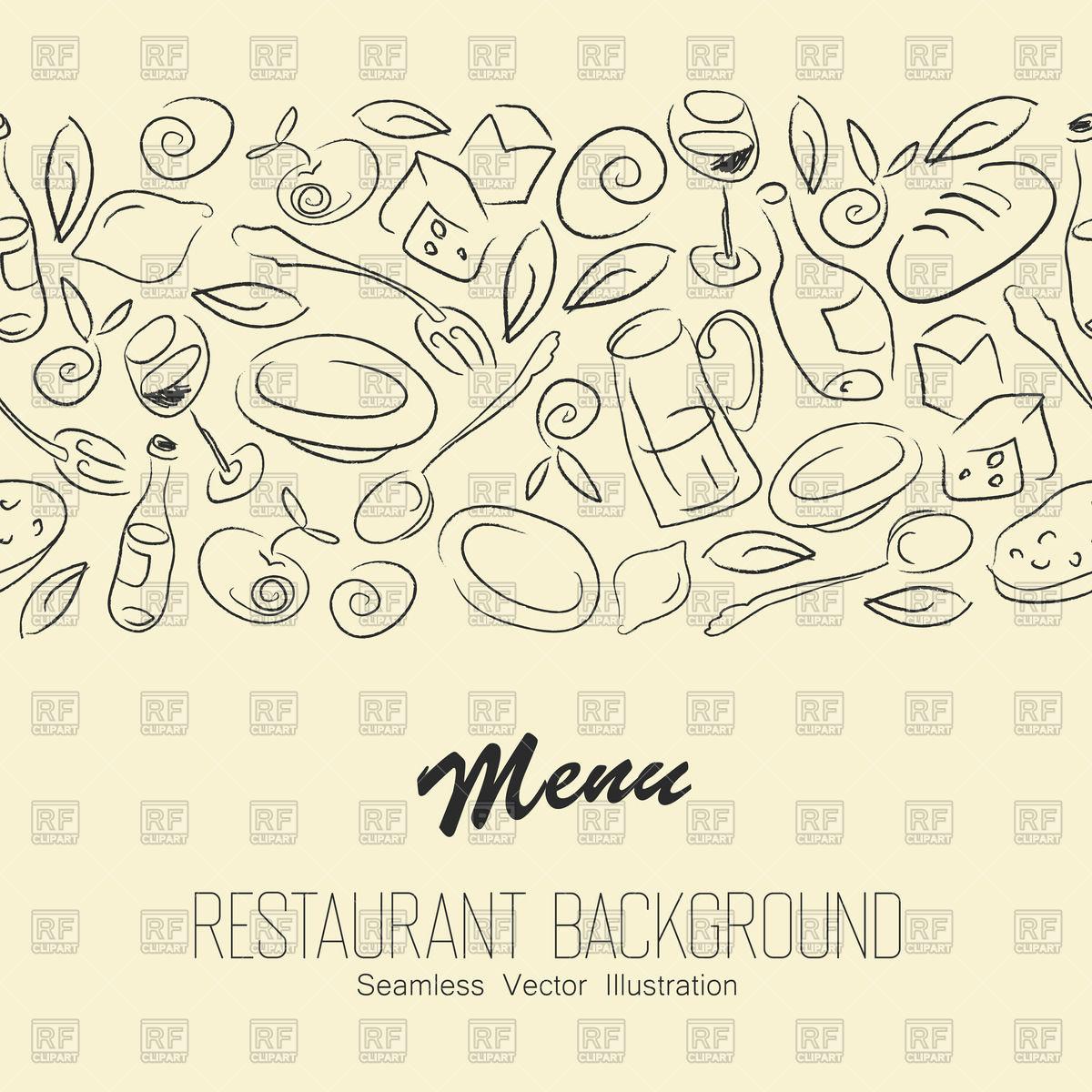 1200x1200 Seamless Restaurant Background
