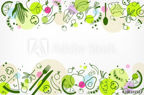 500x328 Colourful Amp Healthy Food Background