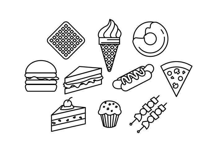 700x490 Food Icon Free Vector Art