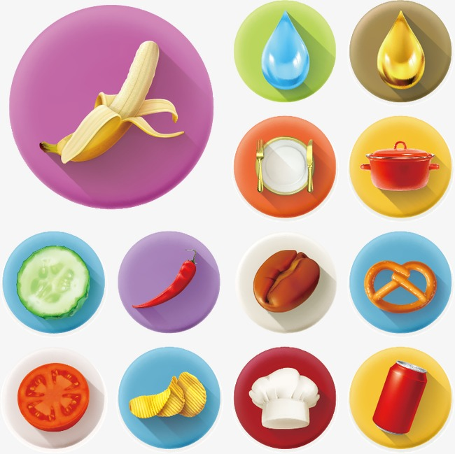 650x649 Food Icon Material, Food Vector, Icon Vector, Banana Png And
