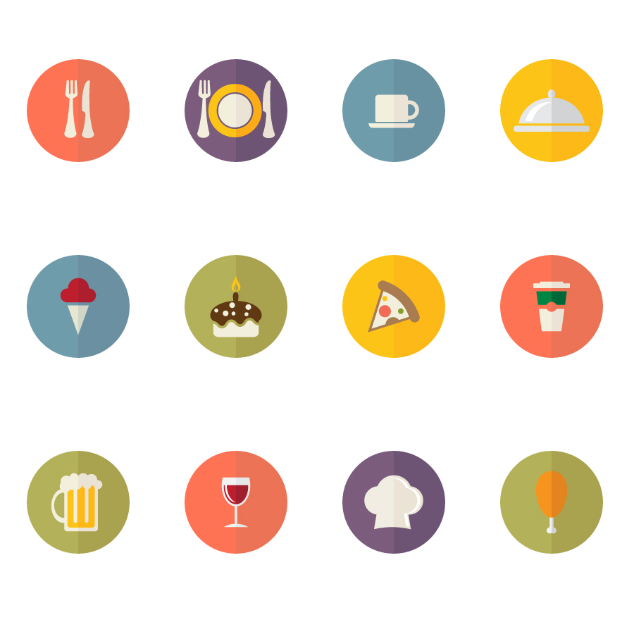900x900 Food Icons