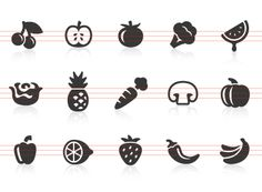 236x173 17 Best Food Icons Images Food Icons, Doodles And