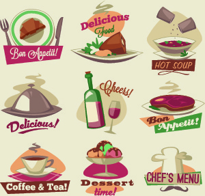 300x287 Food Logo Design Free Vector Download (73,158 Free Vector) For