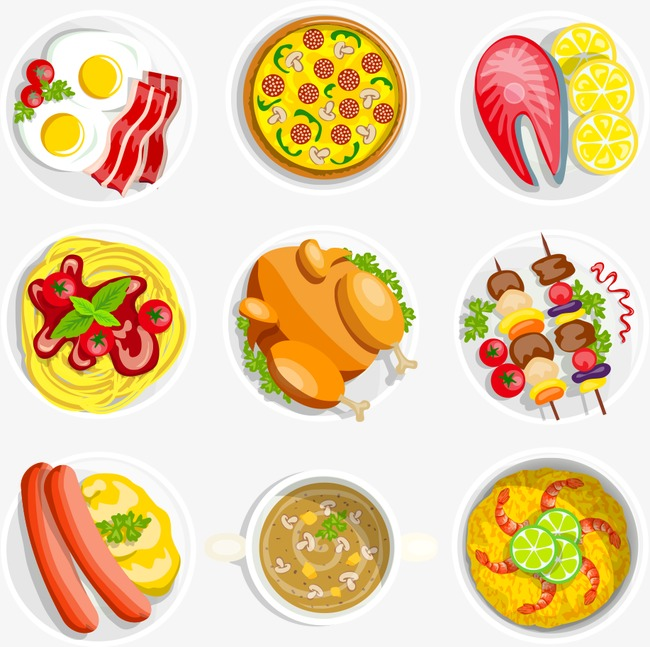 650x647 Vector Plate Of Food, Plate Vector, Food Vector, Plate Png And