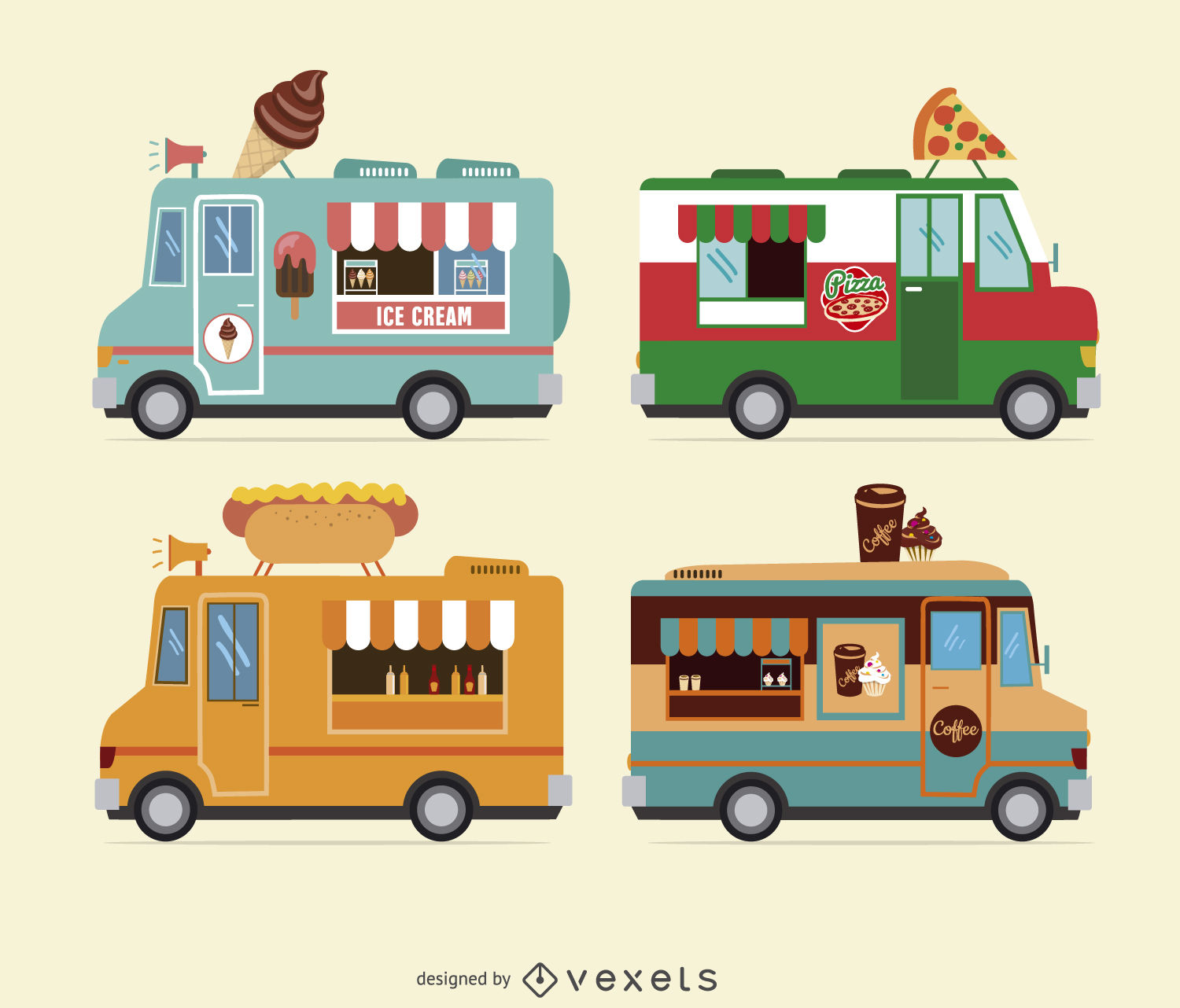 1500x1282 Food Truck Design Collection