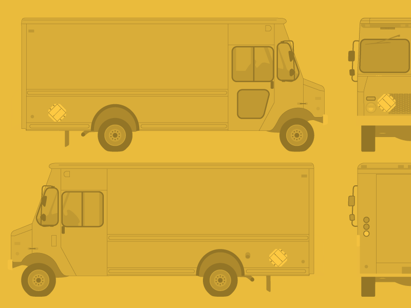 800x600 Free Food Truck Template By Ben