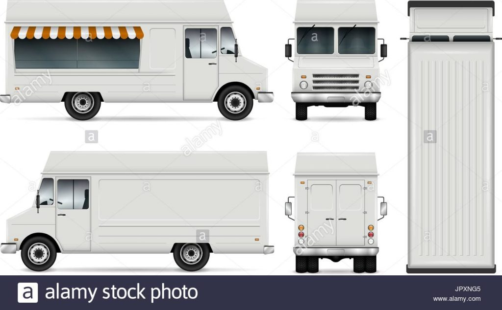 1024x634 Free Template. Food Truck Template