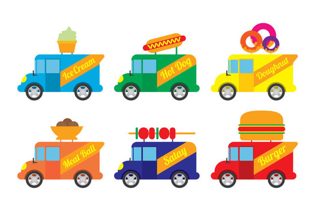632x443 Food Truck Vector Free Vector Download 305801 Cannypic