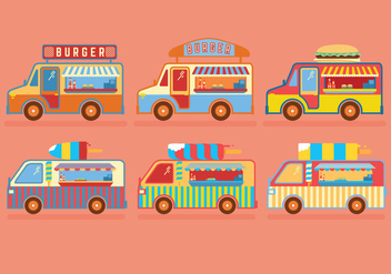 352x247 Food Truck Vector Free Vector Download 305803 Cannypic