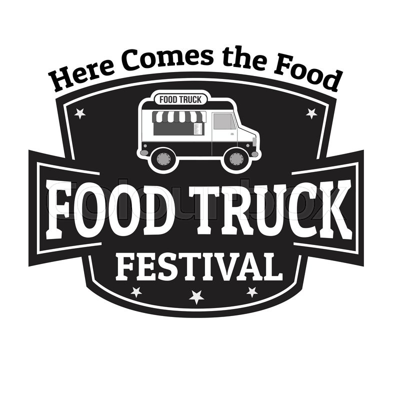 800x800 Food Truck Festival Grunge Rubber Stamp On White Background