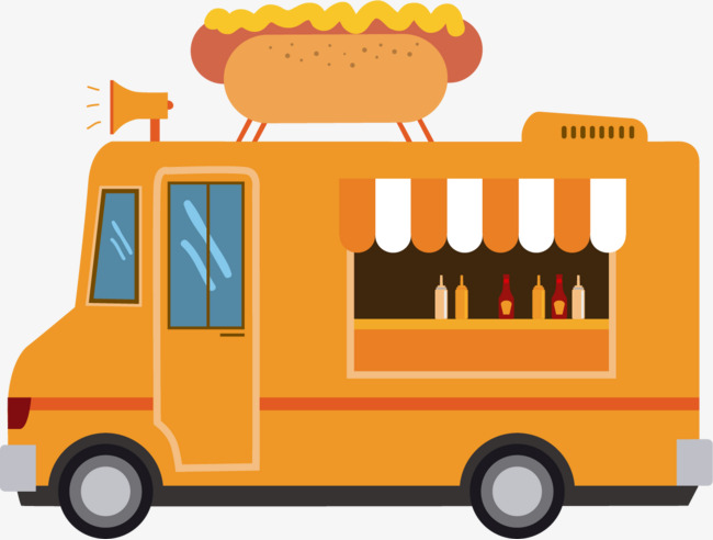 650x492 Vector Sausage Food Truck, Vector, Sausage, Food Png And Vector