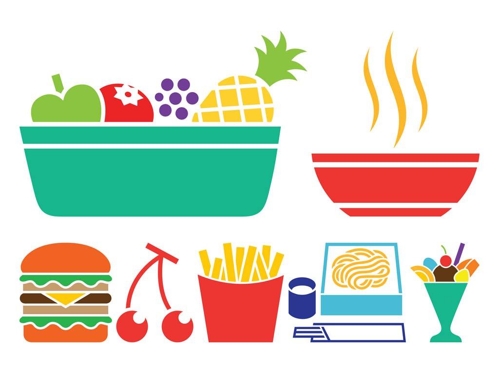 1024x765 Food Icon Set Vector Art Amp Graphics