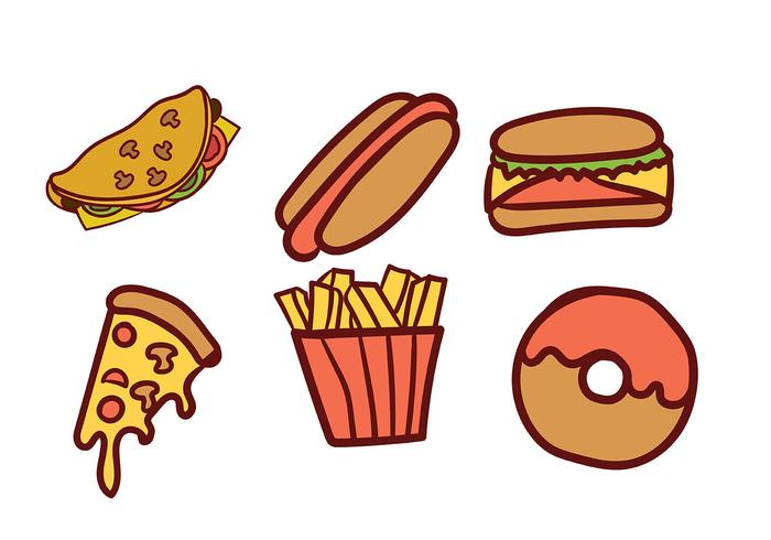 700x490 Food Vector Pack
