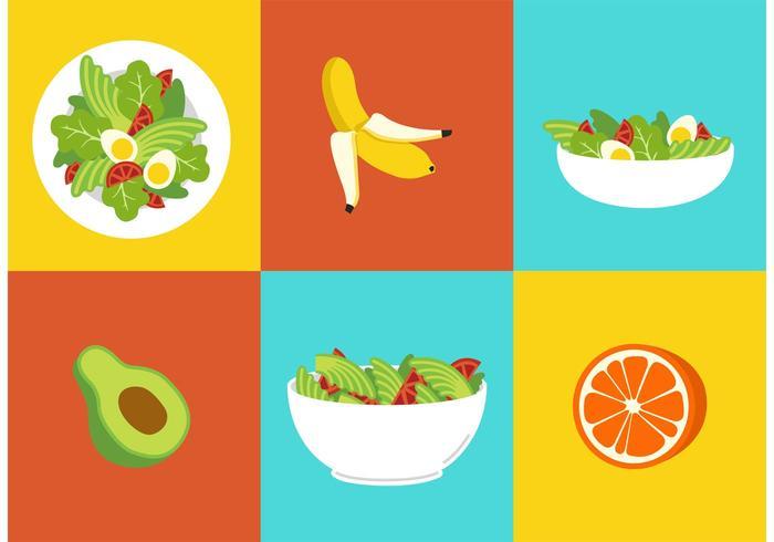 700x490 Healthy Diet Food Vectors