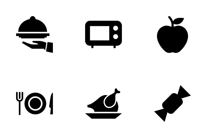 720x480 Download Food Vector Icons Icon Pack In Svg, Png, Eps, Ai, Ico