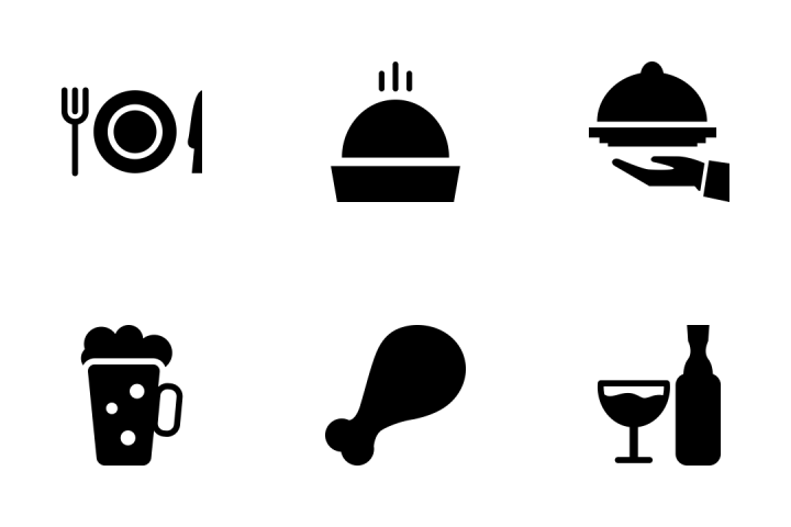 720x480 Download Food Vector Icons Pack Icon Pack In Svg, Png, Eps, Ai