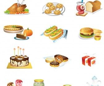 336x280 Food Illustrations Vector Food Illustration Food