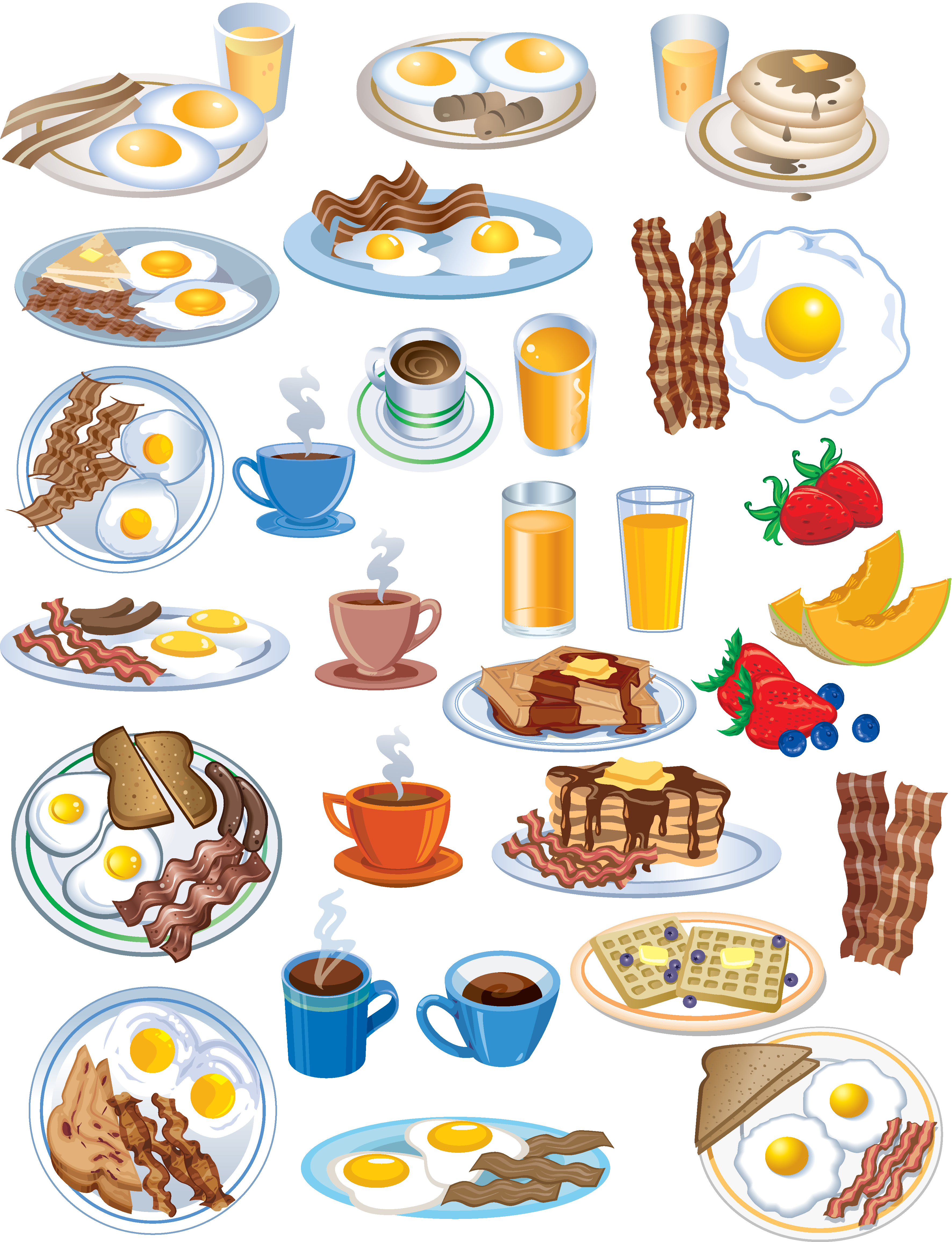 3543x4622 Preview Breakfast Food Icon(2)
