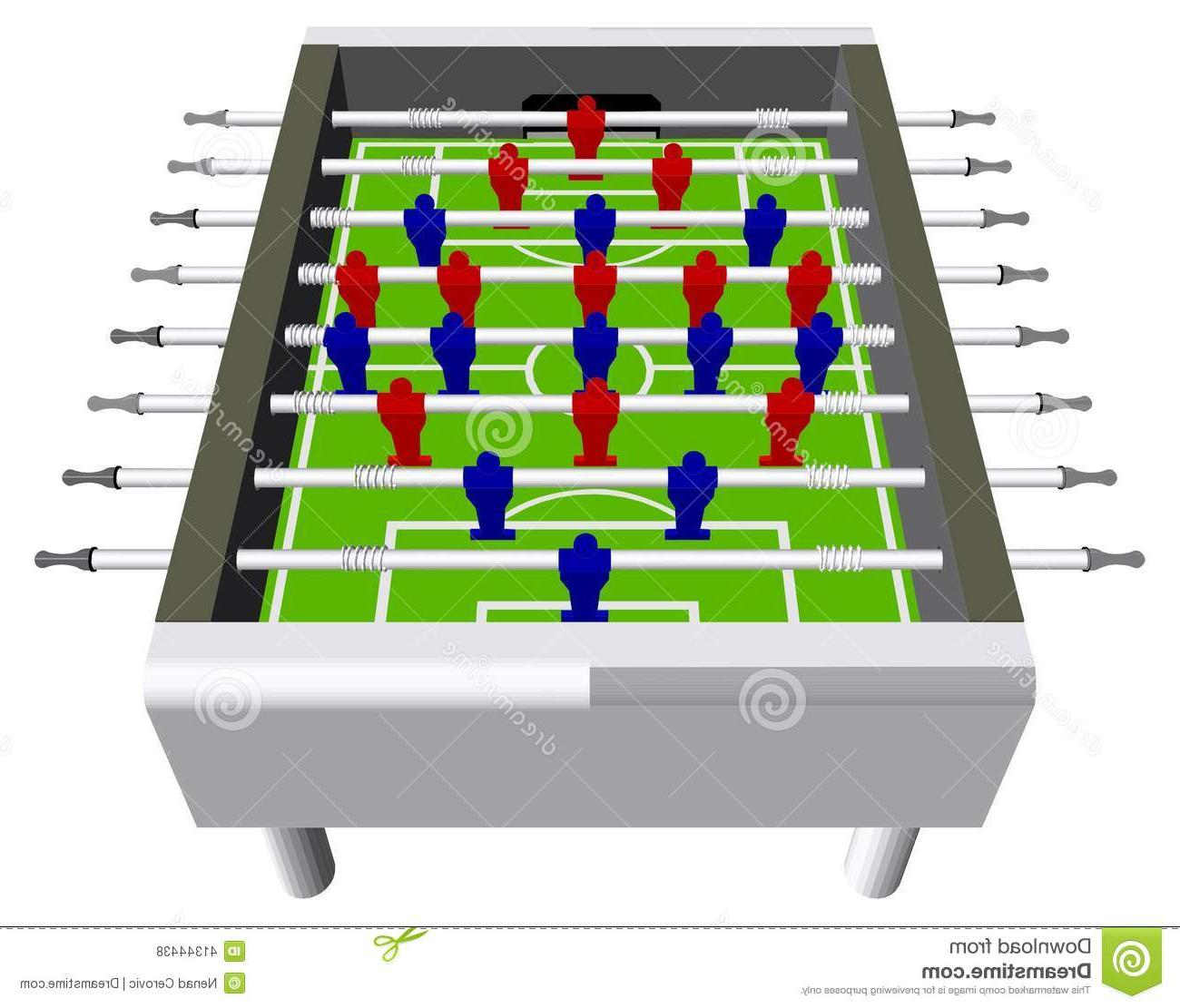Foosball Vector At Getdrawings Free Download