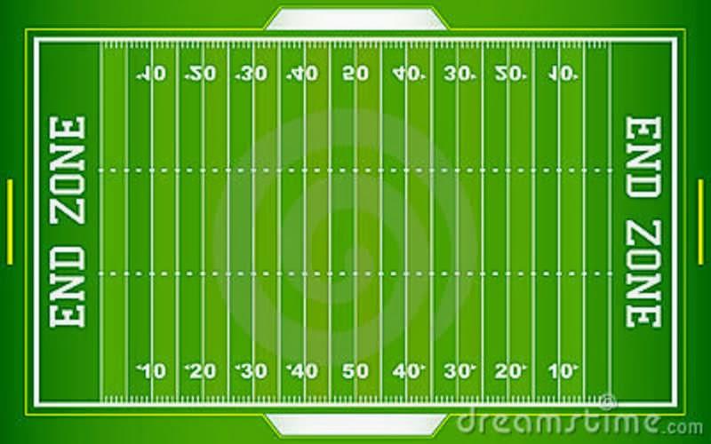 800x500 Field Clipart American Football