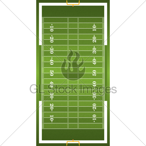500x500 Textured Grass Vertical American Football Field Gl Stock Images