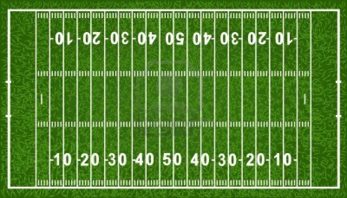 Football Field Lines Vector At Getdrawings Com Free For Personal