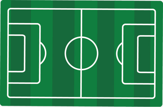 650x425 Football Field Vector Material Picture, Vector, Football Field
