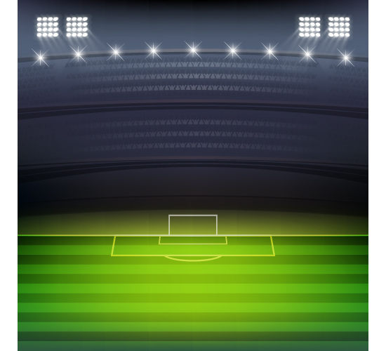 550x500 Football Field And Spotlights Background Vector 01 Free Download