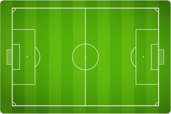 551x368 Football Field Vector Free Vector Download (1,026 Free Vector) For