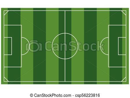 450x337 Soccer Field Or European Football Field Background Template. Top