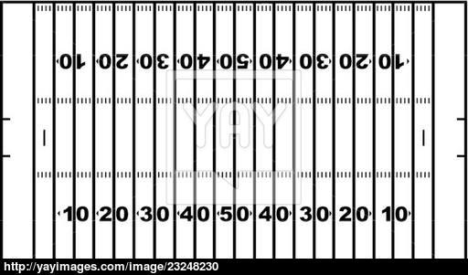 512x301 American Football Field Vector