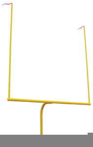 190x300 Clipart Football Goal Post Free Images