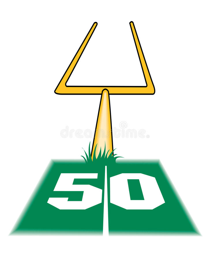 728x900 Collection Of Football Field Goal Post Clipart High Quality