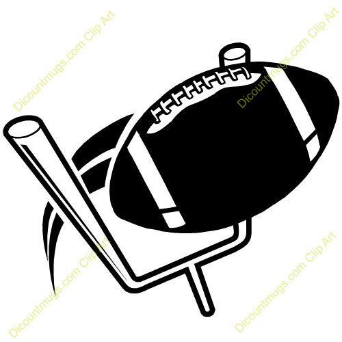 500x500 Football Clipart Football Goal Post