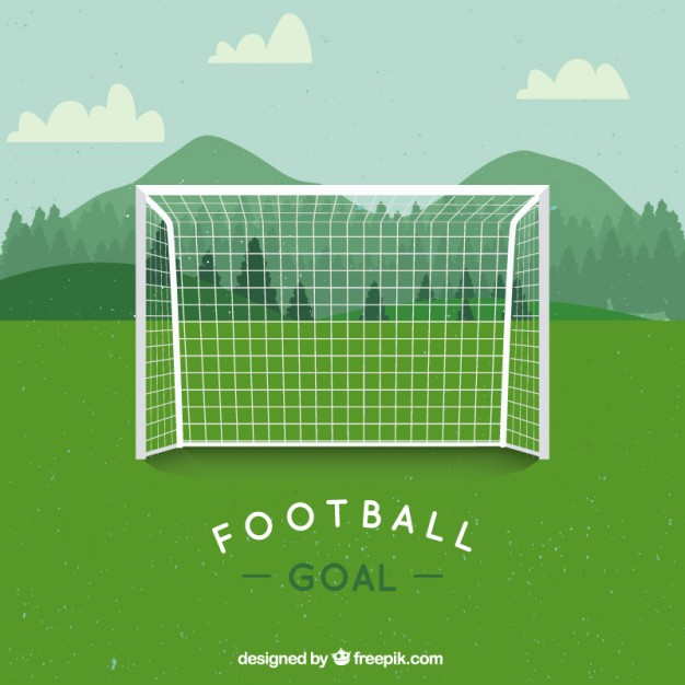 626x626 Soccer Goal Vector Free Download
