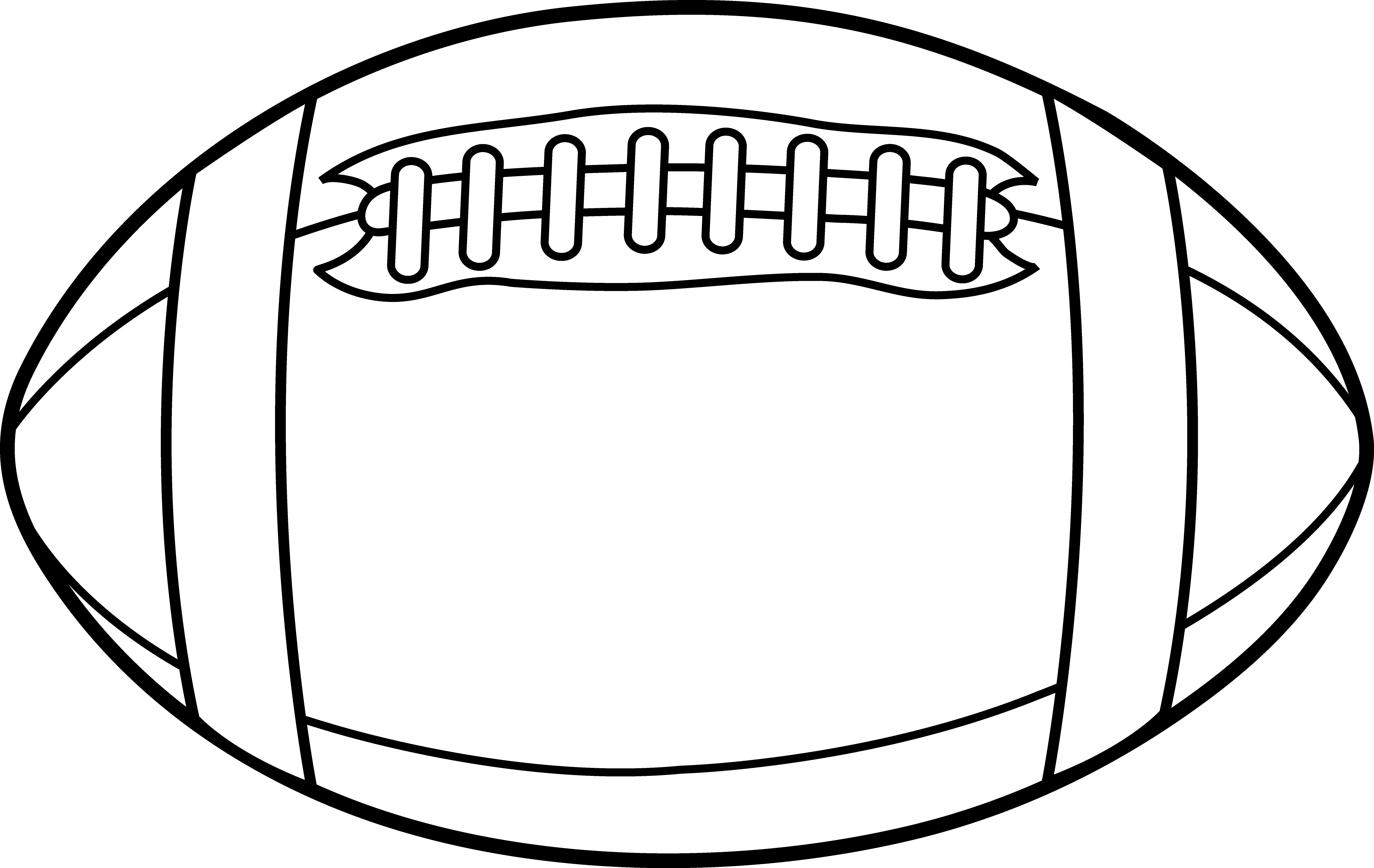 Football Outline Vector