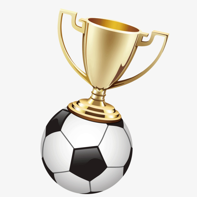 650x651 Exquisite Football With Trophy, Football Clipart, Trophy Clipart