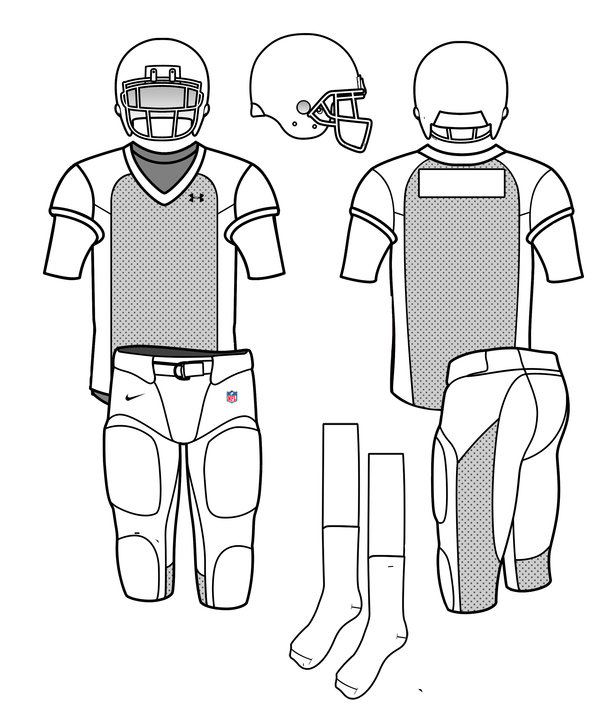 Football Uniform Template Vector At Getdrawings Com Free For