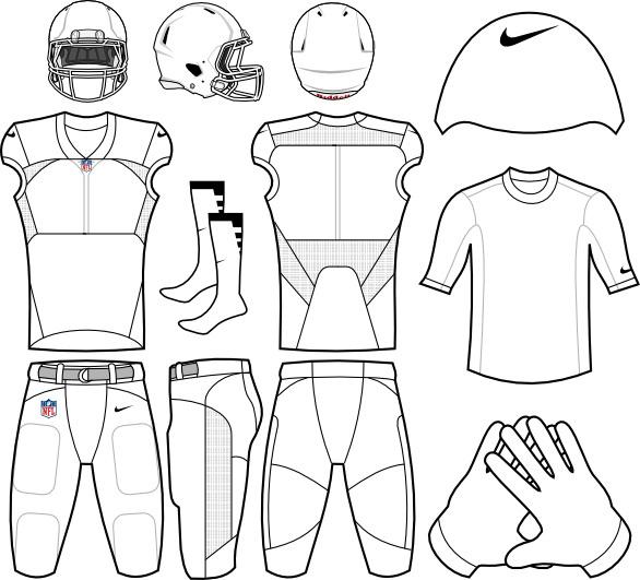 586x531 Nike Football Uniform Fabulous Football Uniform Template