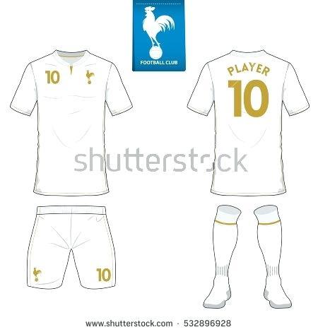 450x470 Set Soccer Jersey Football Kit Template Stock Vector Pes 2017 Ps3 8e3637109