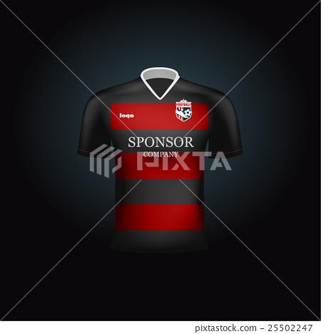 450x468 Realistic Vector Football Uniform. Branding Mockup