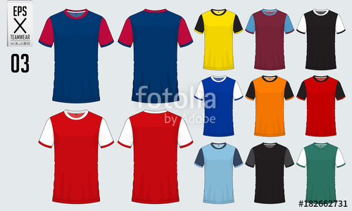 500x300 T Shirt Sport Design For Soccer Jersey, Football Kit Or Sport